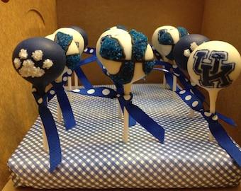 University of Kentucky cake pops