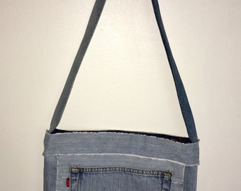 Recycled Levi Tote