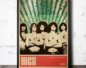 The MC5 Punk Art Poster