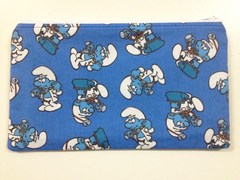 Smurfs Make Up Bag/Zipper Pouch image 0