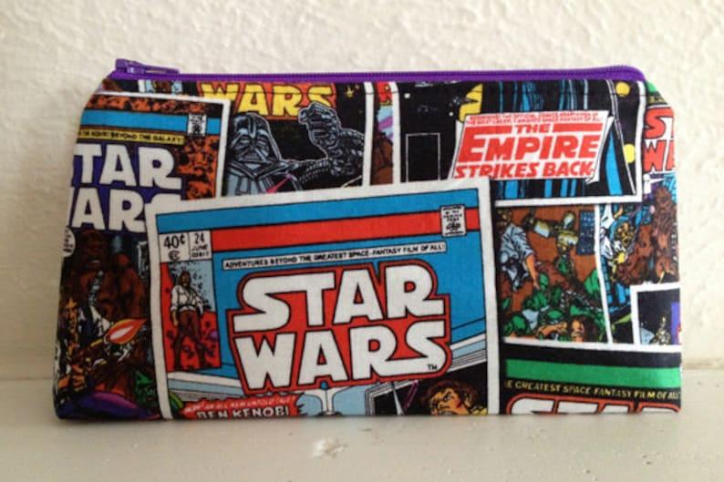 Star Wars Makeup Pouch/Zipper Bag image 0