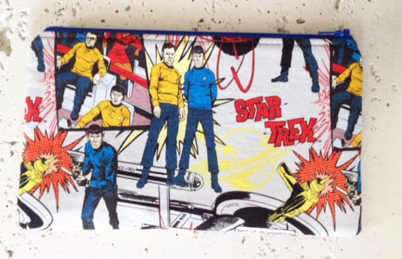 Star Trek Zipper Pouch/Make Up Bag image 0