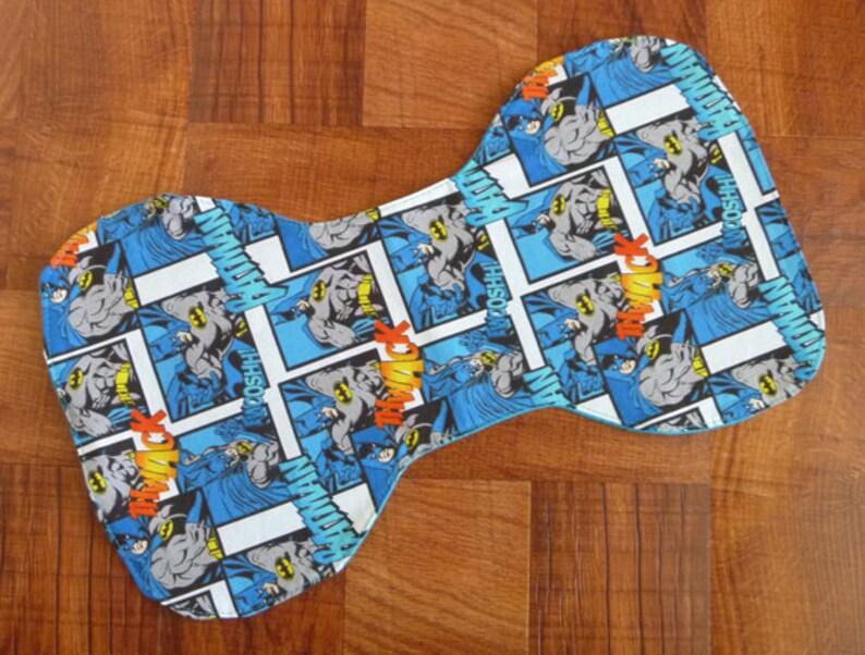Batman Burp Cloths/Burp Pads image 0