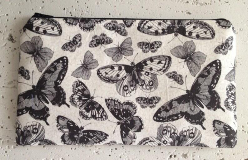 Butterflies Gadget Pouch/Zipper Bag image 0