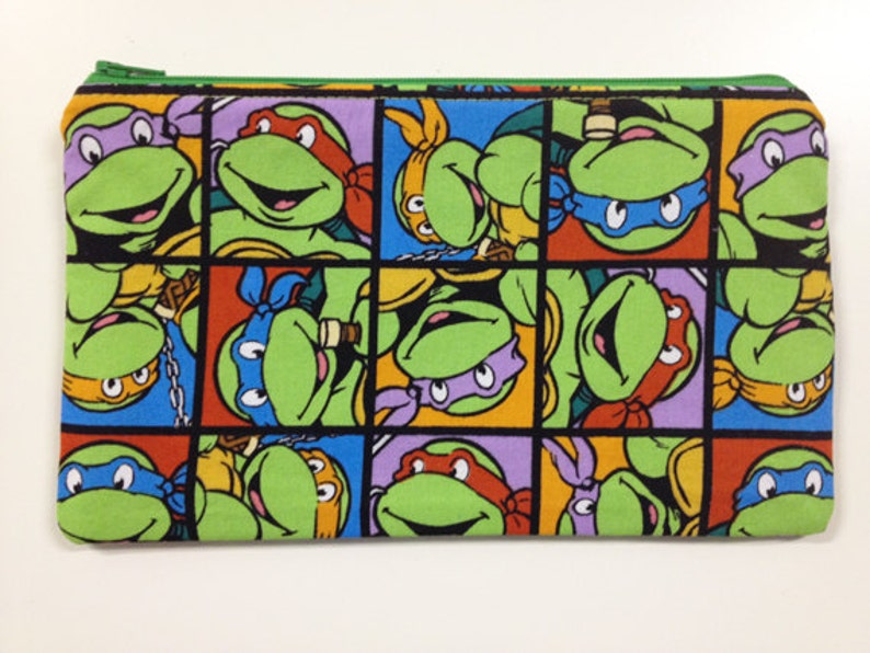 Cartoon Turtle Pouch/Make Up Bag image 0