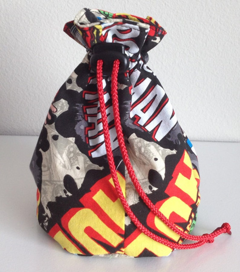 Marvel Comic Standing Dice Bag image 0