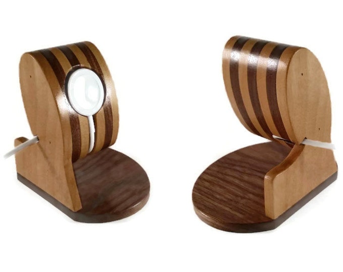 Apple Watch wood Charging Stand