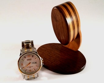 Custom Wood Watch Bracelet Stand
