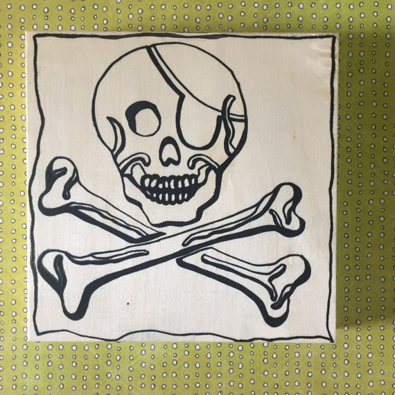 Coloring Board Jolly Roger Craft Kit Pirate Theme Pirate   Etsy