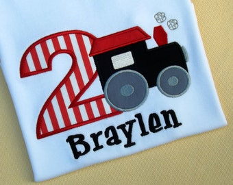 Train Birthday T-Shirts and Bodysuits