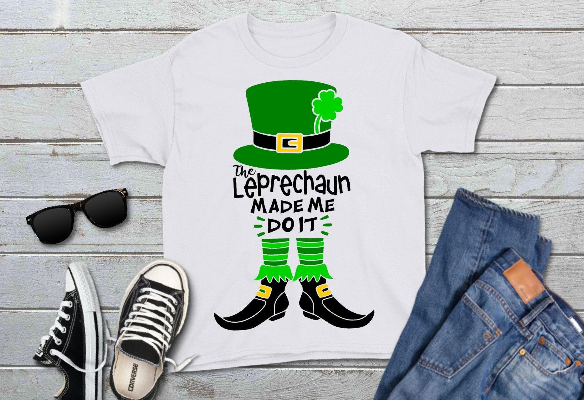 0bb6eda0217 Leprechaun svg The Leprechaun Made Me Do It Leprechaun Hat