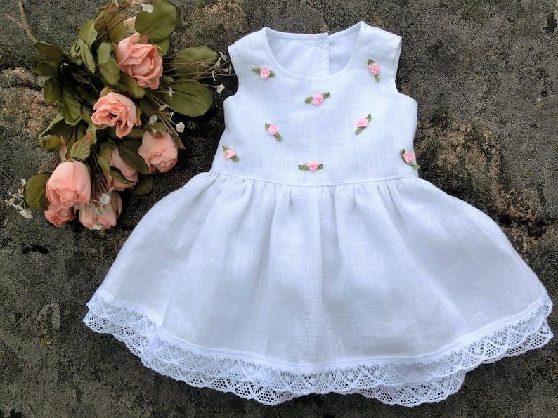 d2987c0f9afdb0 Baby-Taufkleid Baby hochzeits kleid Baby festkleid Baby