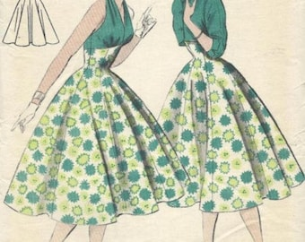 1950s halter neck dress pattern
