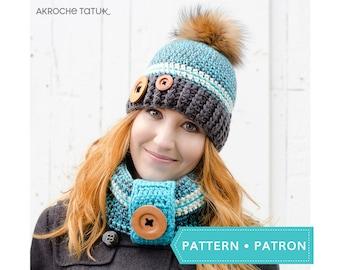 Pattern only! Rustik kit crochet pattern by Akroche Tatuk (english and french).