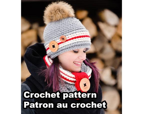 21fc0b071ace PATRON PDF Ensemble Alaska. Patron au crochet par Akroche   Etsy