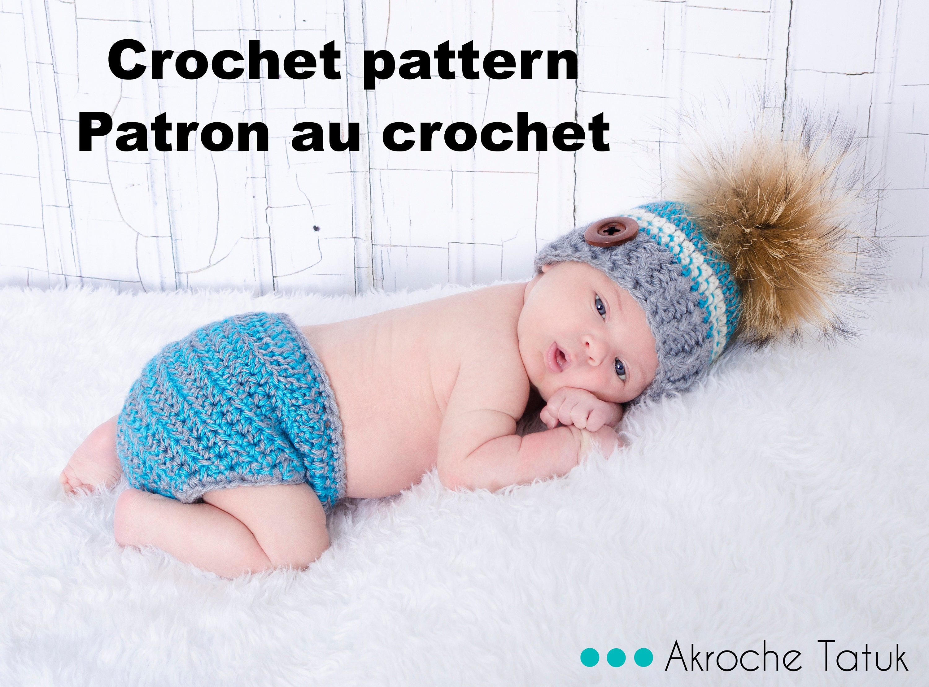 Pattern only Serenity Kit for baby crochet pattern by Akroche | Etsy