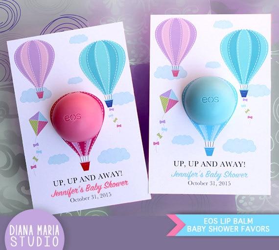 Eos Lip Balm Air Balloon Baby Shower Favors Eos Lip Balm Etsy