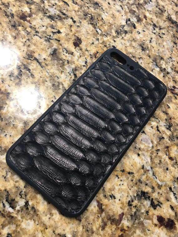half off 86a6a 5c4dd Exotic Python Leather iPhone 6,7,8 or the X