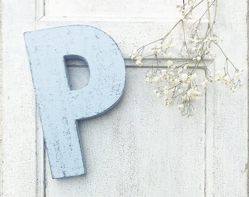 Lettere Di Legno Colorate : Lettera in legno di recupero naturale o colorato etsy