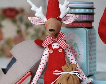 Christmas reindeers English PDF