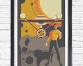 The Original Star Trek Series - James T. Kirk - 19x13 Poster