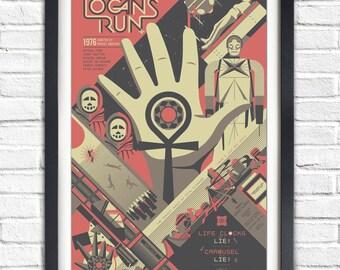 "CC888 8X10 PUBLICITY PHOTO JENNY AGUTTER IN THE 1976 FILM /""LOGAN/'S RUN/"""