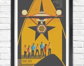 The Original Star Trek Series - All Original crew - 19x13 Poster
