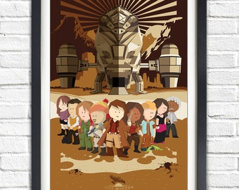 Firefly - Serenity - All Characters - All cast - Joss Whedon - 19x13 Poster