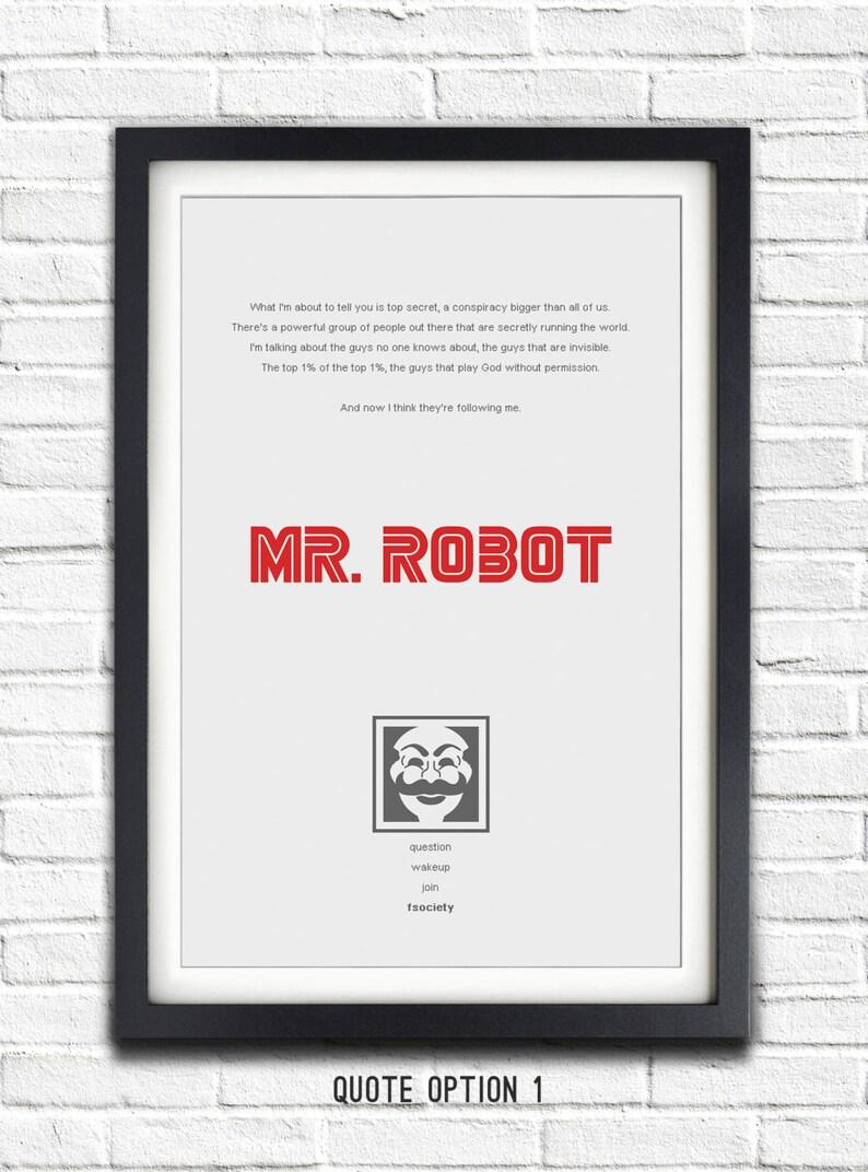 Mr Robot - 19x13 Poster