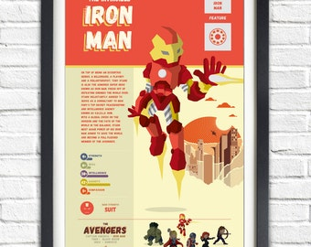 The Avengers - Iron Man - 19x13 Poster