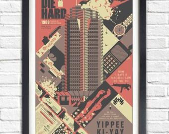 Die Hard - 1988 - Poster