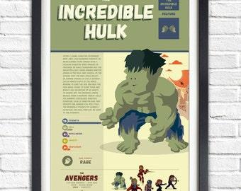 The Avengers - Hulk - 19x13 Poster