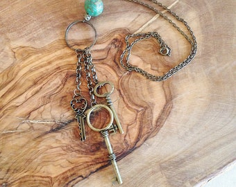 The Mysterious Key Necklace