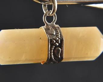 72fc031973f4 Himalayan Gold Quartz azeztulite double terminated pedant    supra mental  manifestation     Himalayan wisdom   32 cts 1668