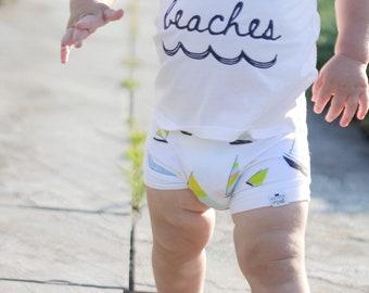 Sailboat Baby Bummies/Shorties