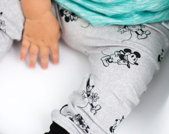 Mickey Mouse Baby + Toddler Harem Pants/ Leggings