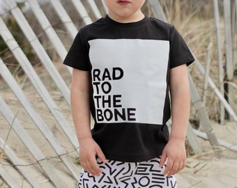 Rad to the Bone Graphic Tee