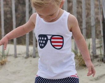 Stars & Stripes (4th of July) Graphic Tank