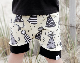 Party Hat Harem Shorts