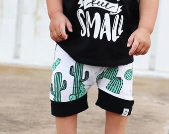 Cactus Shorts Baby + Toddler Harem Shorts