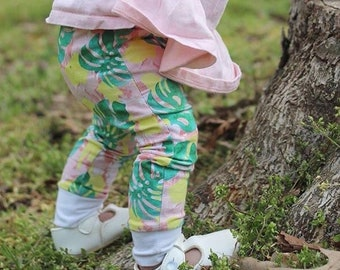 Palm Springs (Monstera Leaf) Baby Leggings