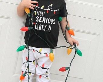 """""""You Serious Clark?!"""" Christmas Vacation Set (Pants + Shirt)"""