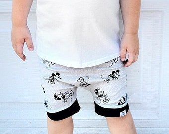 Mickey Mouse Baby + Toddler Harem Shorts