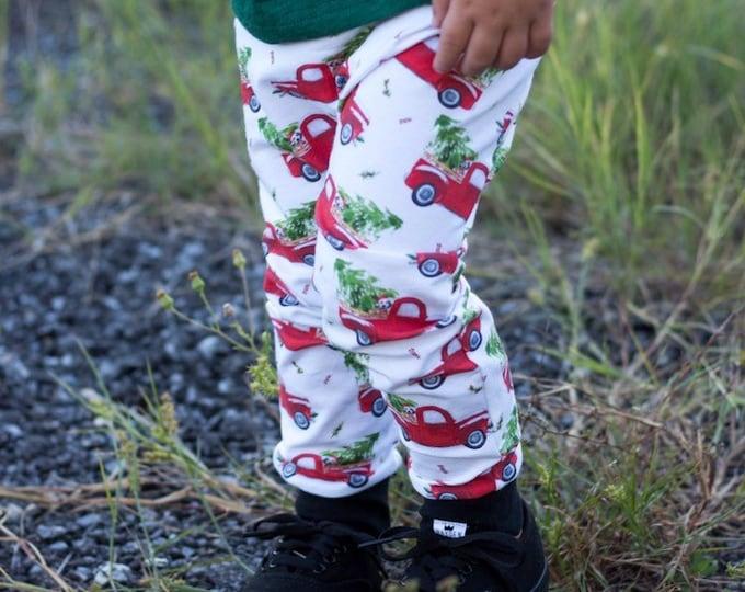 Featured listing image: Vintage Christmas Truck Harem Pants