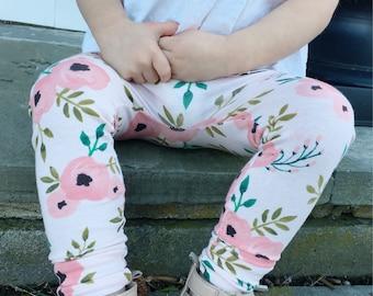 Floral Baby + Toddler Leggings