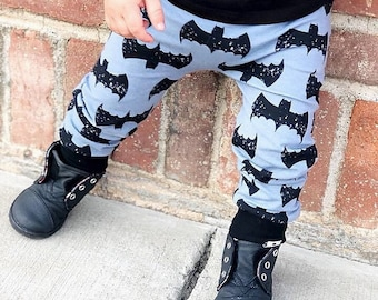 Halloween Bat Harem Pants