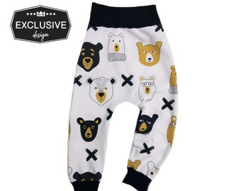 Hipster Bear Harem Pants