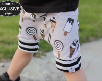 Baby + Toddler Ice Cream Harem Shorts