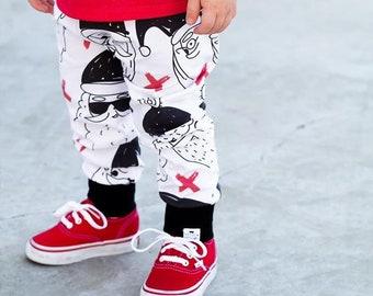 Hipster Santa Harem Pants