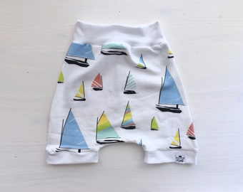 Sailboat, Baby Harem Shorts, Toddler Shorts, Baby Girl Shorts, Boat Shorts, Hipster Baby, Shorties, Coatal, Preppy Baby, Shorts, Baby Shorts
